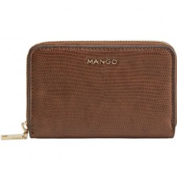 Mango Wallet Brown