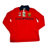 BHPC - Polo Neck Red Sweater