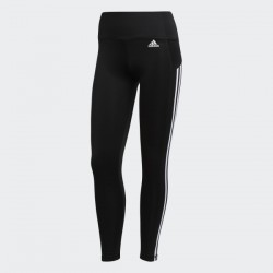 Adidas 3 Stripes 7/8 Leggings Black