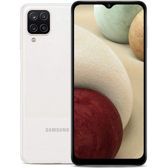 Samsung Galaxy A12 Dual SIM 64GB 4GB RAM 4G LTE, White