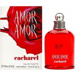 Amor Amor by Cacharel for Women - Eau de Toilette, 100ml