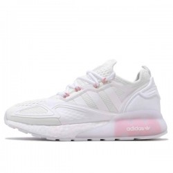 ADIDAS ZX 2K BOOST SHOES CLOUD WHITE