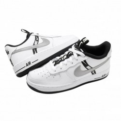 NIKE AIR FORCE 1 LV8 KSA WHITE-BLACK