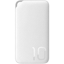 Huawei Power Bank 10000 mah, Portable Fast Charger, High-Speed Charging Technology - White
