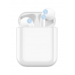i12 Mini TWS BT 5.0 Wireless In-Ear Pods With Charge Box White