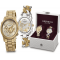 Akribos XXIV Women's 2 Watch Gift Set