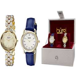Burgi Women's Casual Watch Set