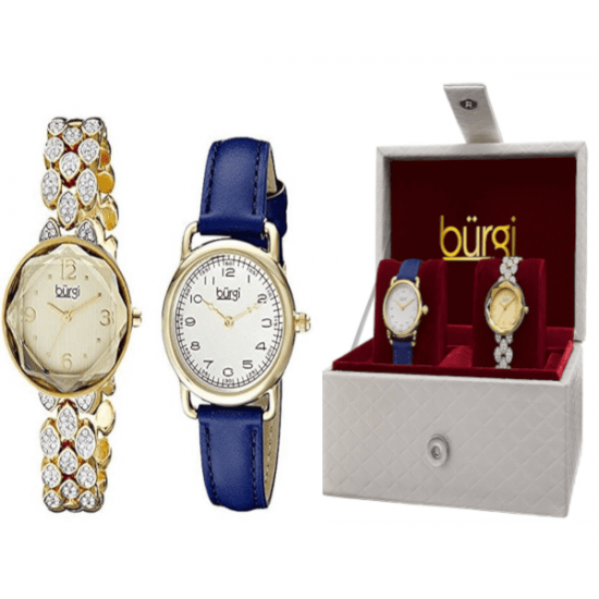 7412e4e61b4 Burgi Women's Casual Watch Set. New -67 %