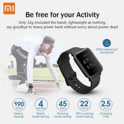 Xiaomi Amazfit Bip Smart Watch - IOS & Android
